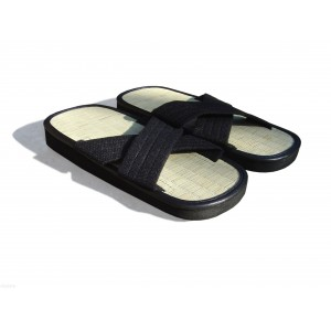 Tatami Zori crossed sandals