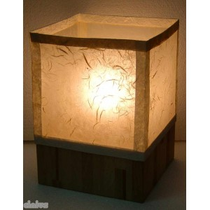 Isola model rectangular table lamp