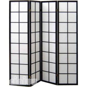 Yoko model screen, black colour