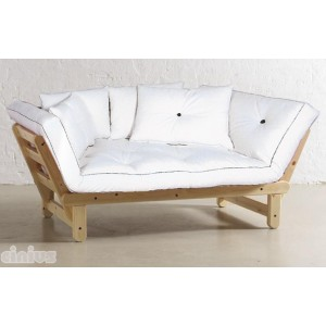 Sole-Eco model sofa-bed 2 places - untreated