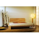 Kyoto Japanese bed with mattress, bed tables and futon headboard