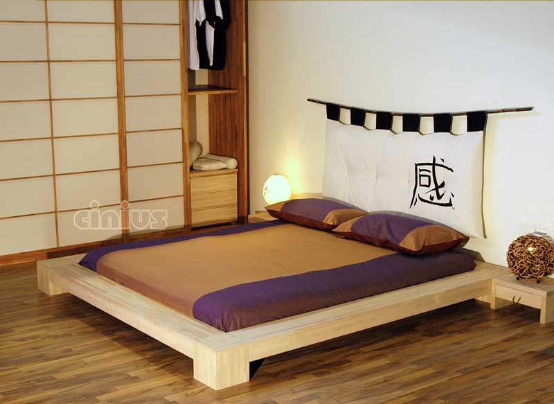lit japonais isola. Black Bedroom Furniture Sets. Home Design Ideas