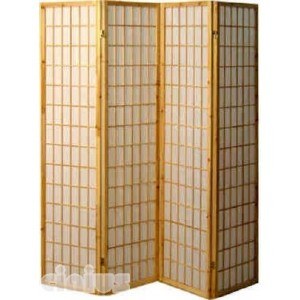 Tatami model screen, natural colour