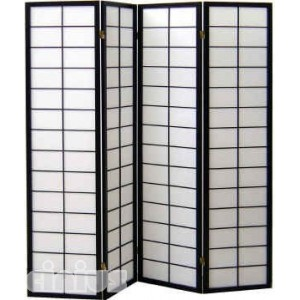 Nanji model screen, black colour